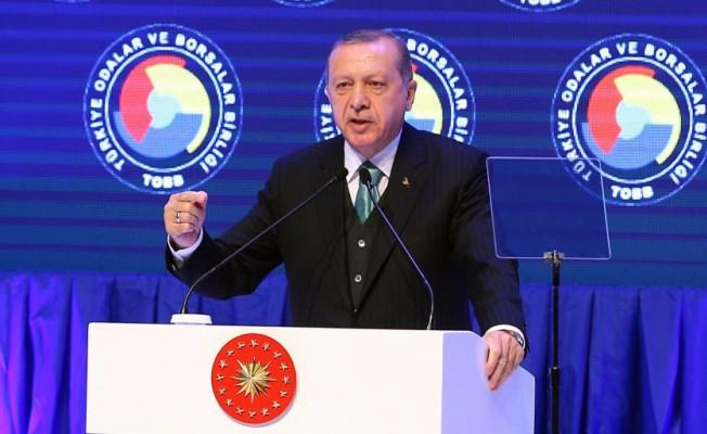 Cumhurbaşkanı Erdoğan: Yerli Otomobili TOBB Camiasından Çıkartalım