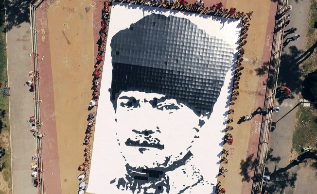 Göztepeli Çocuklar, 1925 Parçayla Atatürk Tablosu Oluşturdu