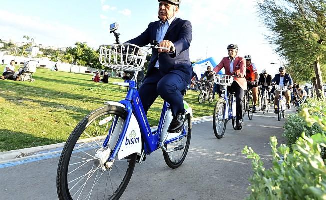 İzmir, Avrupa Bisiklet Finali İçin 500 Bin Kilometre Yaptı