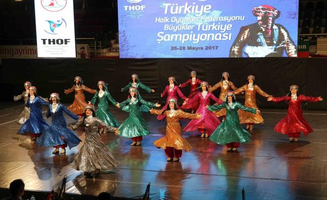 Karşıyaka 'Zeybek'le Türkiye İkincisi Oldu