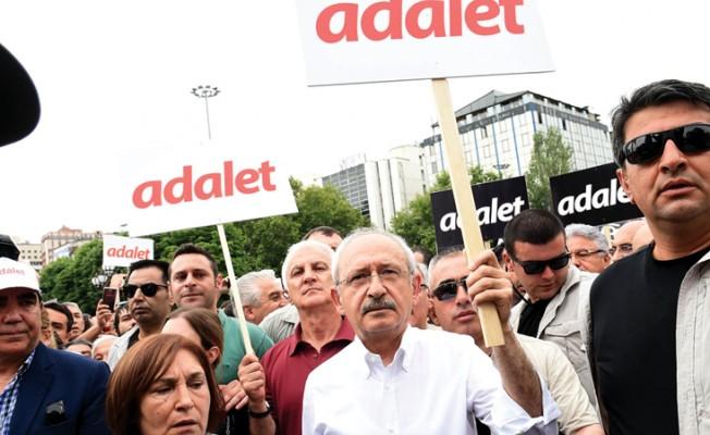 CHP Genel Başkanı Kılıçdaroğlu İstanbul Yürüyüşüne Başladı