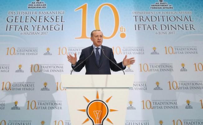 Cumhurbaşkanı Erdoğan: Burada Farklı Bir Oyun Oynanıyor