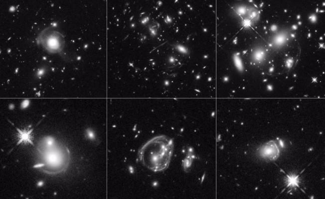 Hubble Evrenin En Parlak Galaksileri'ni Görüntüledi
