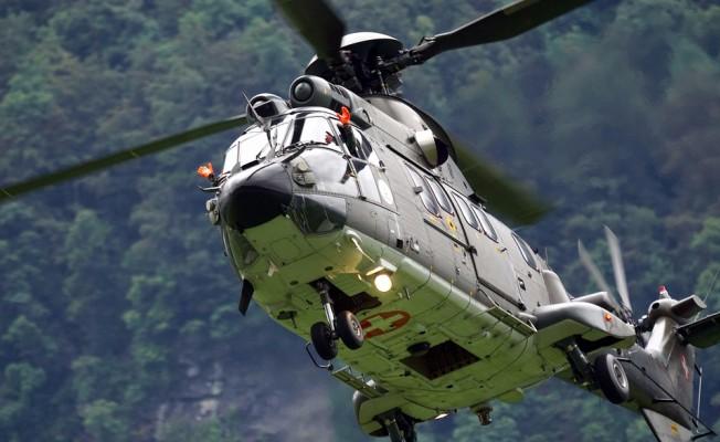Şenoba'da Askeri Helikopter Düştü: 13 Şehit