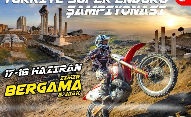 Türkiye Süper Enduro Motor Şampiyonası Bergama'da