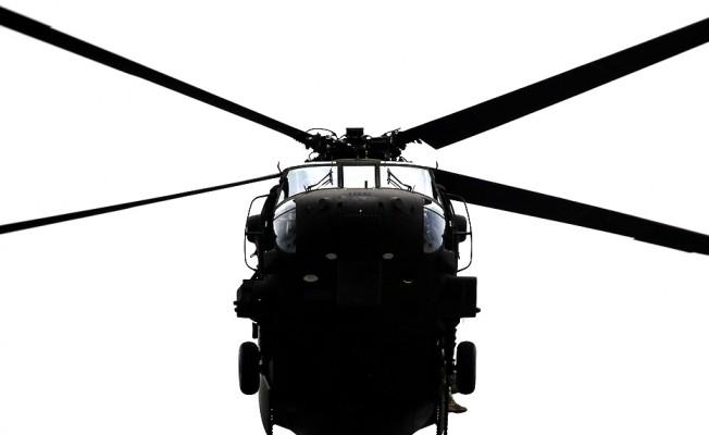 ABD askeri helikopteri düştü: 7 ölü
