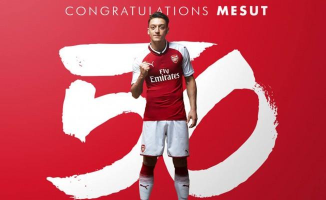 Mesut Özil'den asist rekoru