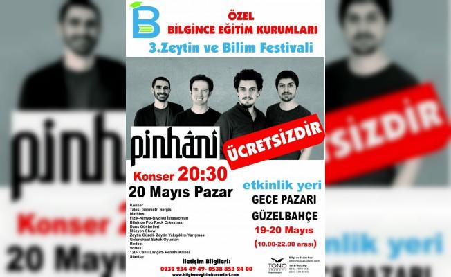 Özel Bilgince Eğitim Kurumları'ndan 3. Zeytin Ve Bilim Festivali