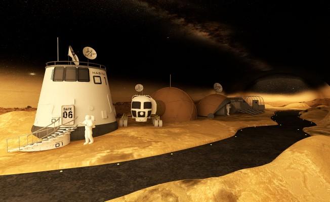 """""""Mars, Dünyaya Geliyor"""""""