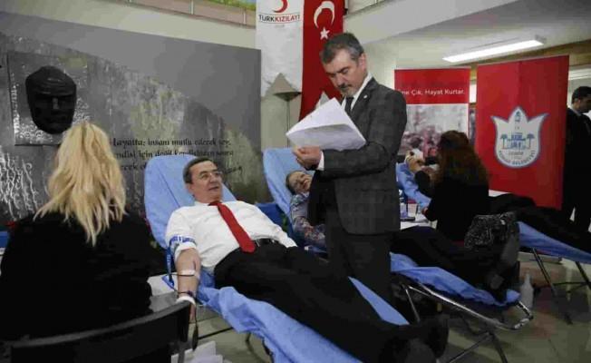 Konak Belediyesi'nden Kan Bağışı Kampanyası