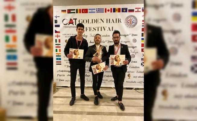 Golden Hair Saç Festivali'nde İzmir Rüzgarı