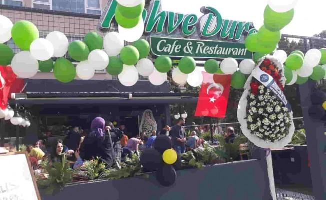 Kahve Durağı Üçyol'da Açıldı