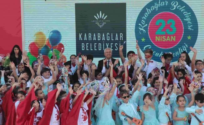 Karabağlar'da 23 Nisan Coşkusu