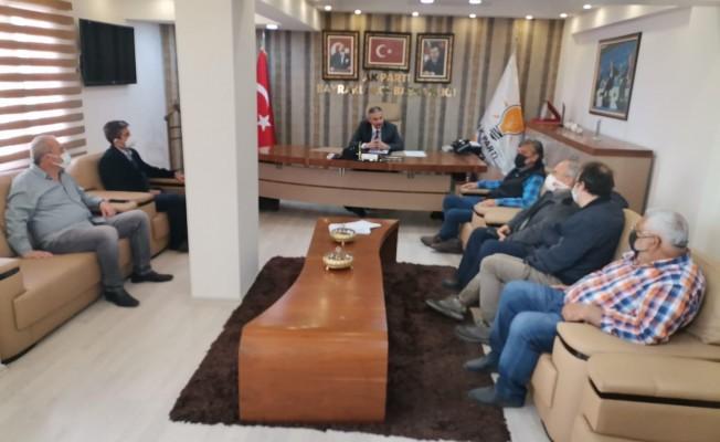Trafo istemeyen Adalet Mahalle sakinlerinden, AK Parti Bayraklı'ya teşekkür ziyareti