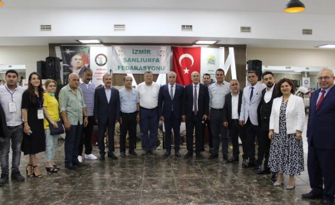 İzmir Şanlıurfa Federasyonu'nda Mızraklı güven tazeledi