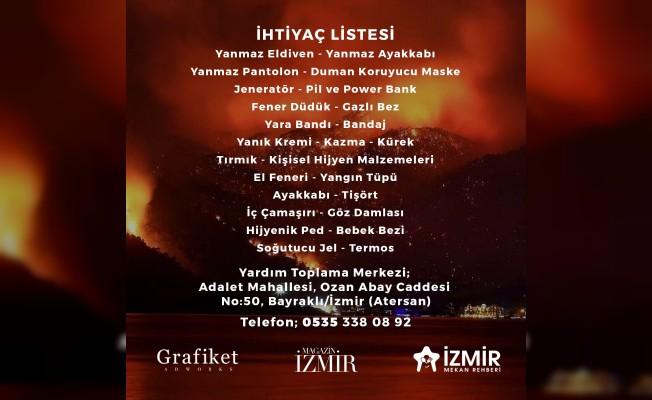 İzmir Mekan Rehberi'nden Yardım Çağrısı