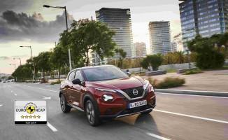 Yeni NISSAN JUKE, Euro NCAP'ten 5 Yıldız Aldı