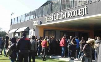 İleri Bilim Koleji Bursluluk Sınavı'na Yoğun Katılım