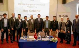 MÜSİAD Stuttgart Heyeti İzmir'de Ticaret Zirvesine Katıldı