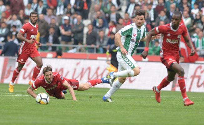 Atiker Konyaspor gol oldu yağdı
