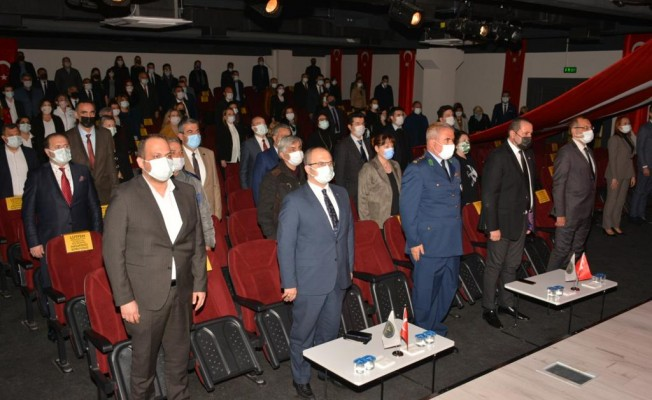 Dokuz Eylül Koleji İlçe Milli Eğitim Müdürlüğü Törenine Ev Sahipliği Yaptı