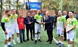 Bornova Belediyesi Futbol Turnuvası Sona Erdi