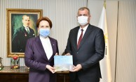Tire Belediye Başkanı Duran, Akşener#039;i ziyaret etti